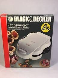 Black & Decker The Shell Baker Meal & Dessert Maker for Sale in Atlanta, GA