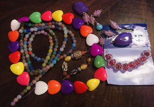 Lot of Awesome Beads, Pendent, Hearts, Glass Beads, Gemstones for Sale in Austin, TX