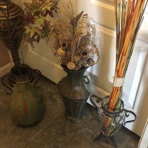 Floweral Vase Decor for Sale in Las Vegas, NV