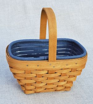 Longaberger 2003 Small Comforts Basket for Sale in Richardson, TX