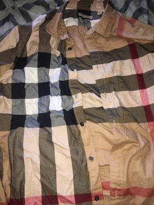 Burberry flannel for Sale in Union City, CA