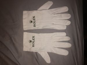 Rolex gloves white barely used for Sale in Miami, FL