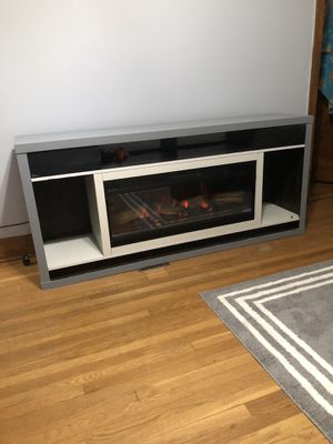 Fireplace Tv Stand for Sale in Chicago, IL