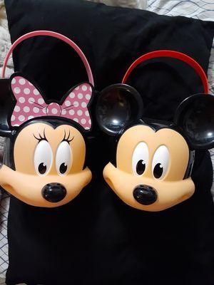 Mickey and Minnie Buckets for Sale in Spokane, WA