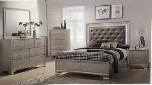 I Furniture queen bedroom El Rio furniture finance available down payment $39 1456 belt line rd suite 121 Garland tx 75044 Open from 9:30-8:30 for Sale in Richardson, TX