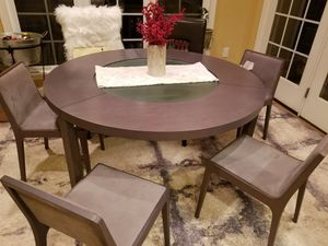 Contempo style 5 piece dining set for Sale in Fairfax, VA