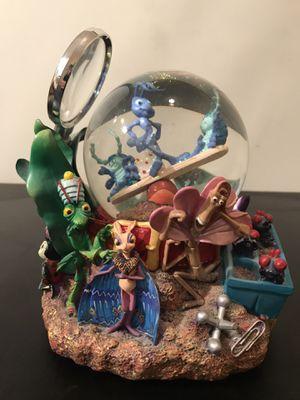 RARE Disney Pixar A Bugs Life Musical Snow Globe 1998 Randy Newman for Sale in Westlake, MD