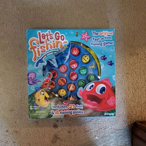 Let's Go Fishing Game for Sale in Eau Claire, WI