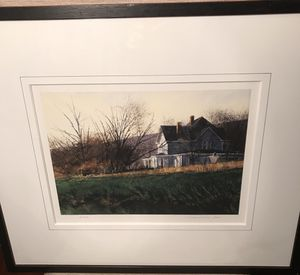 Limited print by Thomas William Jones, beautifully framed for Sale in Silver Spring, MD