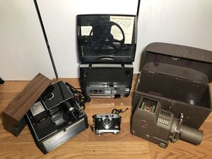 Vintage photo/video equipment for Sale in San Diego, CA
