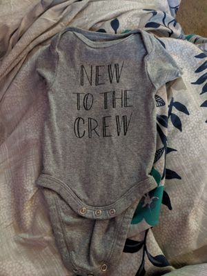Newborns onesies and sweater for Sale in Hendersonville, TN