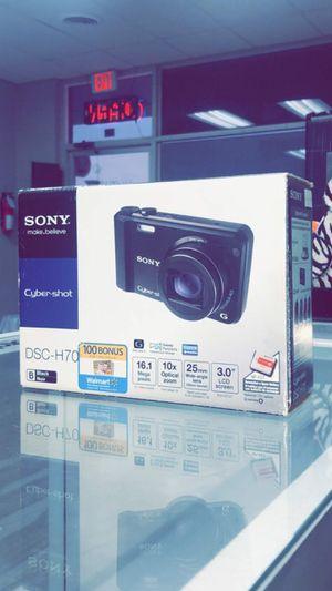 SonyCyber-shot DSC-H70 Digital Camera (Black) Brand New in Box for Sale in Arlington, TX