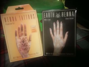 Henna Tattoos All Natural Body Painting Kits for Sale in Tempe, AZ