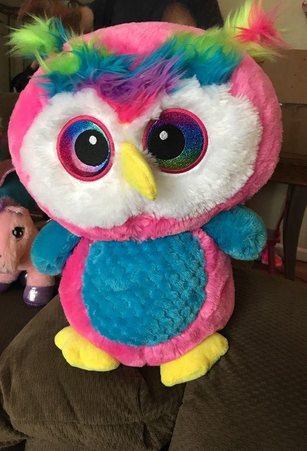 Big Owl Stuffed Animal For Sale In San Antonio Tx Offerup