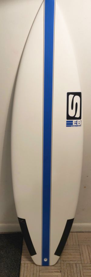 """NOS 5'9"""" Thruster Surfboard - Simon Anderson x Surftech for Sale in New York, NY"""