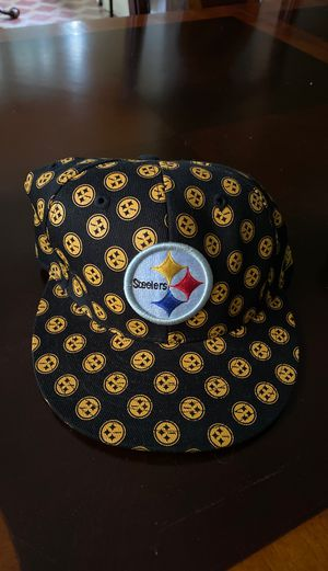 Brand New Pittsburgh Steelers Fitted Hat (Size 7.25) for Sale in PA, US