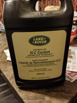 land rover xlc coolant
