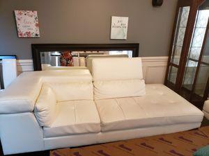 White 2 piece sofa for Sale in Smyrna, TN