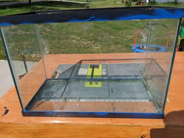 3 20 gallon high fish tanks *drilled*