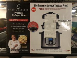Pressure AirFryer Duet (Emiril Lagasse) brand new in the box for Sale in San Jose, CA