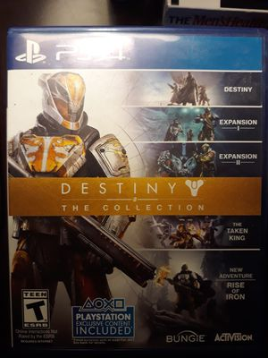 PS4 game DESTINY THE COLLECTION for Sale in Chula Vista, CA