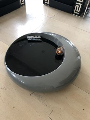 Modern low coffee table (space grey/ black). Excellent condition for Sale in Boston, MA