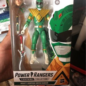 Power Rangers Lightning Collection Green Ranger for Sale in Monterey Park, CA