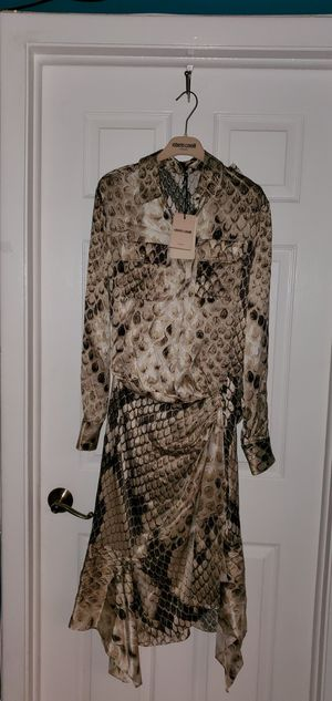 Roberto Cavalli women's woven dress 👗 100% silk brand new made in Italy 🇮🇹 for Sale in Fort Lauderdale, FL