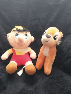 1970s Bambi and Pinocchio dolls for Sale in Greenville, SC
