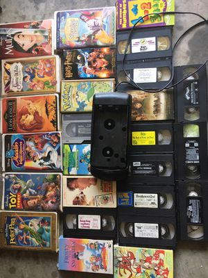 VHS 📼 plus reminder machine for Sale in Raleigh, NC