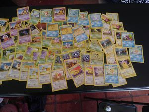Bundle of Pokemon second base set cards for Sale in San Antonio, TX