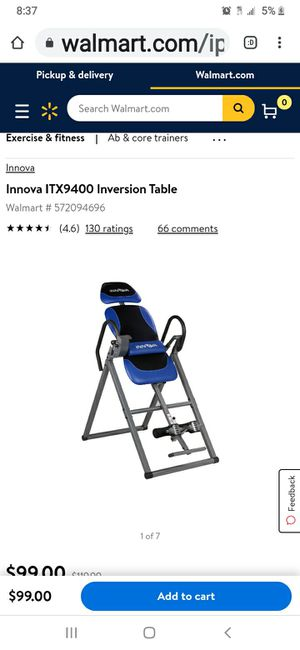 Inversion chair for Sale in San Diego, CA