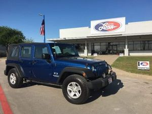 2009 Jeep Wrangler Unlimited X RWD for Sale in Austin, TX