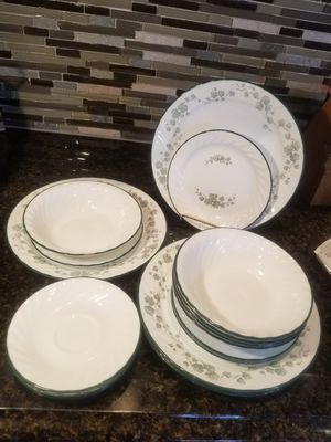 20 pc vintage Callaway corelle by corning for Sale in Granger, IN
