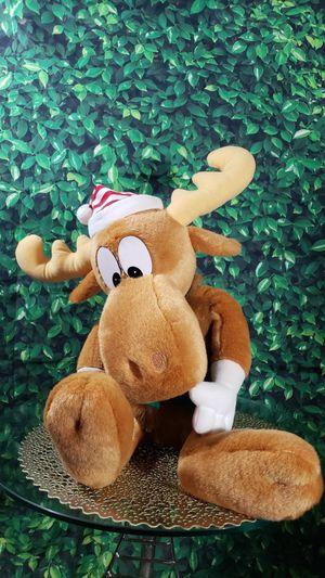 """Vintage 1996 Bullwinkle Moose Macys 24"""" Plush Stuffed Animal for Sale in Fort Rucker, AL"""