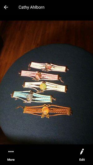 Leather bracelet for Sale in Woodruff, WI