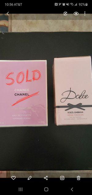Chanel chance , dolce & Gabbana rosa exelsa for Sale in Las Vegas, NV