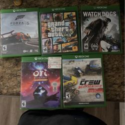 XBOX ONE GAMES for Sale in Winter Haven,  FL