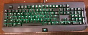 RAZER Blackwidow Ultimate Stealth Keyboard w/ RAZER Taipan mouse for Sale in Greenwood, MO