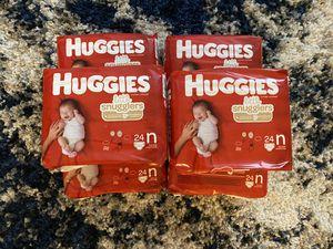 Huggies Little Snugglers Newborn Diapers for Sale in El Cajon, CA
