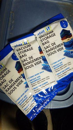 Vacuum storage bags for Sale in Modesto, CA