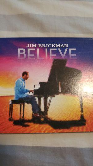 Jim Brickman Believe album for Sale in Richland, WA