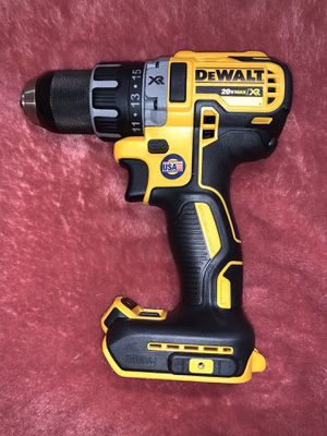 DEWALT XR DRILL DRIVER 2 SPEED ( TOOL ONLY) NO BATTERY NO CHARGER for Sale in Dallas, TX