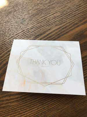 Thank you cards for Sale in Denver, CO
