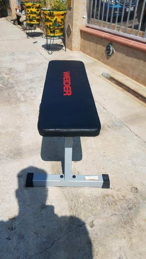 Flat workout exercise utility bench 460lb max Brand new in box for Sale in Montebello, CA