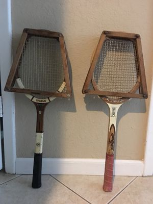 Vintage tennis rackets for Sale in Tampa, FL