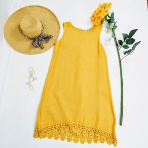 Terzo Millennio Sleeveless Linen Summer Dress for Sale in Fort Lauderdale, FL