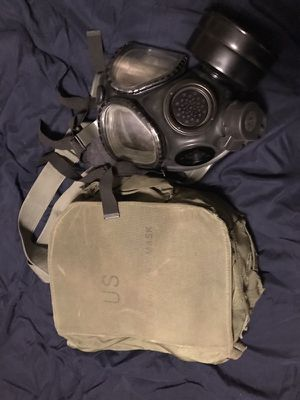 Used, M40 U.S military gas mask for Sale for sale  San Antonio, TX
