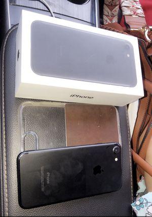 Unlocked iPhone 7 Matte Black for Sale in Olney, MD