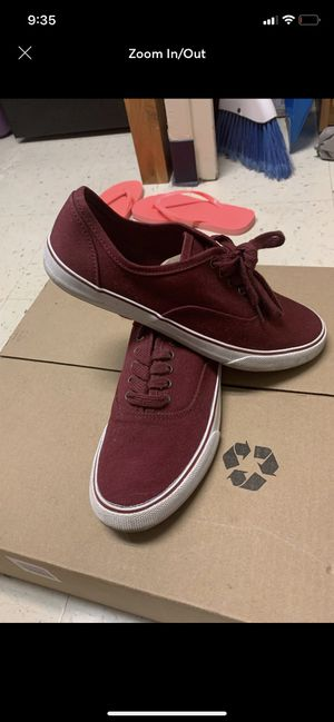 Maroon shoe size 8 for Sale in Normal, IL